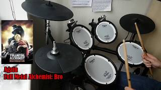 Download Yui, Again. Fullmetal Alchemist Brotherhood OP 1 Full! Drum Cover. MP3 song and Music Video