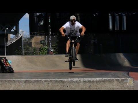 How to Bunny Hop into a Manual | BMX Bike Tricks