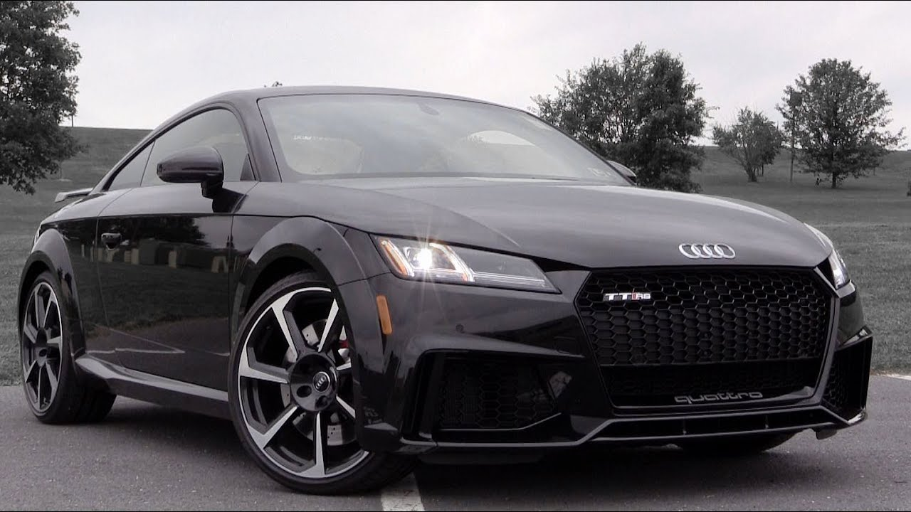 2018 Audi TT RS: Review - YouTube