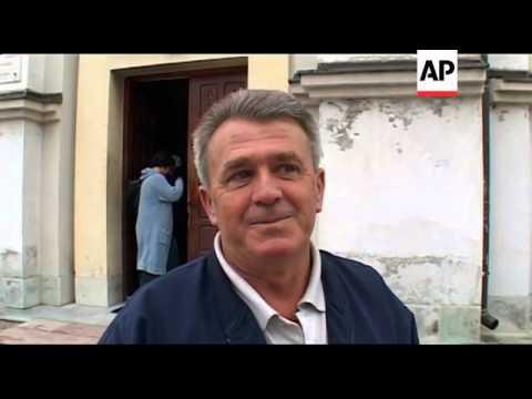 Bosnian Serbs pray for Mladic; rally, Srebrenica survivor interview