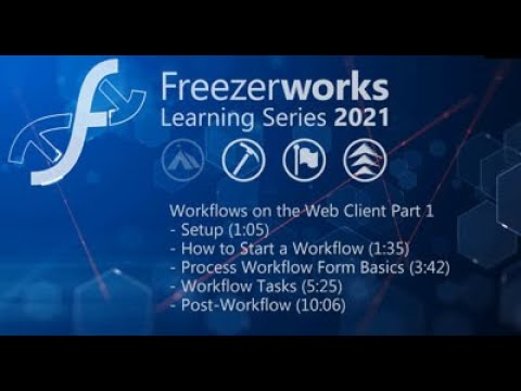 Workflows on the Web Client Part 1
