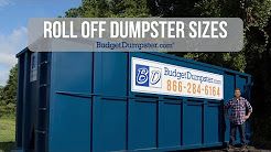 Roll Off Dumpster Sizes | Budget Dumpster