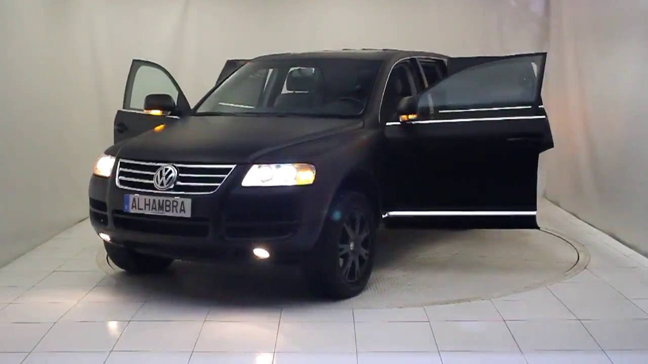 volkswagen touareg r5 tdi tiptronic 5p 2005 autom viles alhambra youtube. Black Bedroom Furniture Sets. Home Design Ideas