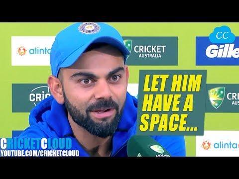 Virat Kohli on MS Dhoni | He's the Most Intelligent Cricketer | India Historic Win over Australia !!