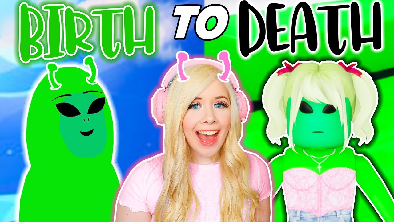 BIRTH TO DEATH: THE ALIEN IN BROOKHAVEN! (ROBLOX BROOKHAVEN RP)