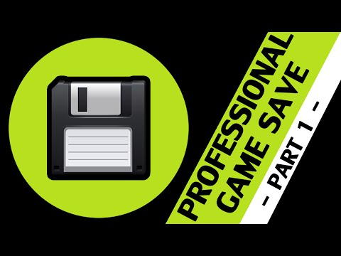 Game Maker Studio - Professional Game Save: Part 1