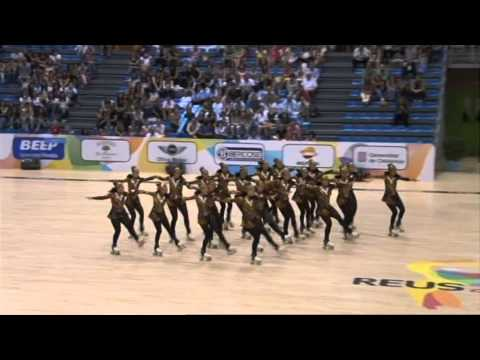 Roller Figure Skating Worlds 2014 - Precision