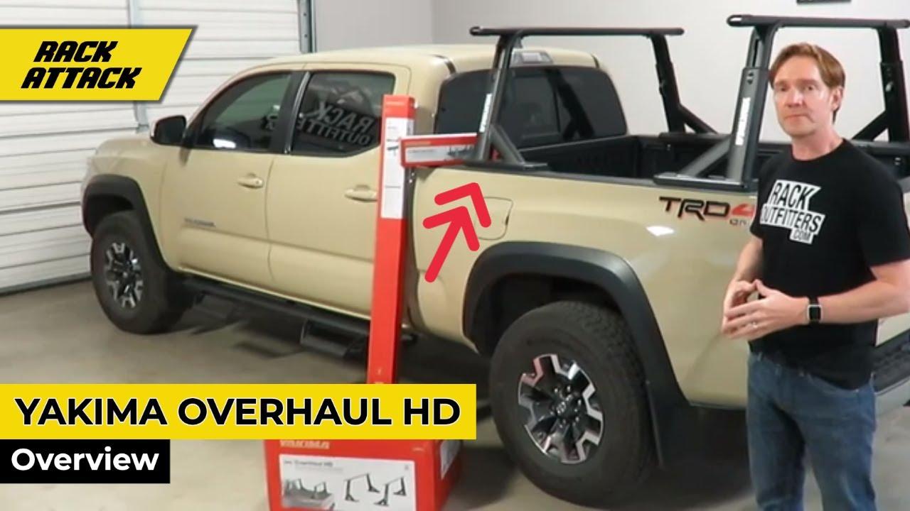 Yakima Overhaul Hd Height Adjustable Truck Rack For In Bed Track