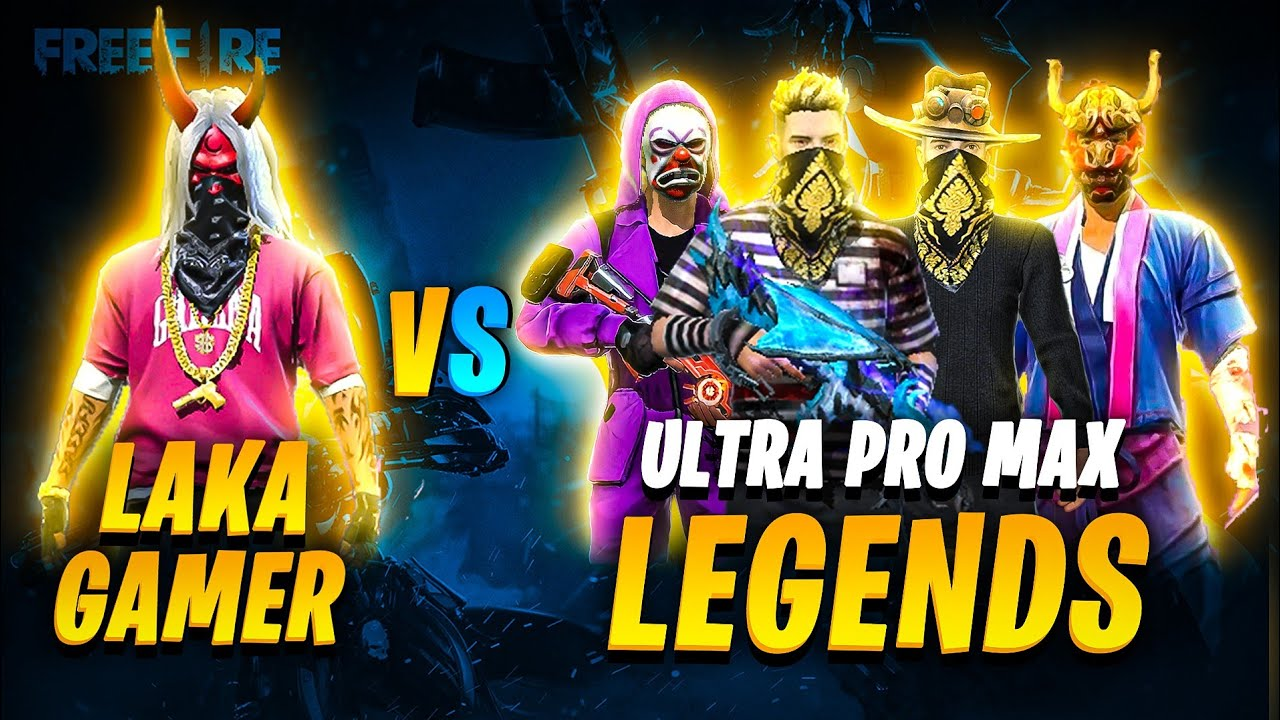 LAKA GAMER VS ULTRA PRO MAX LEGENDS // LEGENDS CHALLANGE NOOB LAKA GAMER // WHO WON??