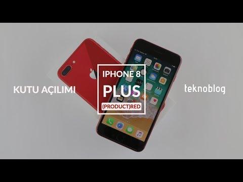 IPhone 8 Plus (PRODUCT)RED Kutusundan Çıkıyor: Kırmızı IPhone 8 Plus Ile Tanışın