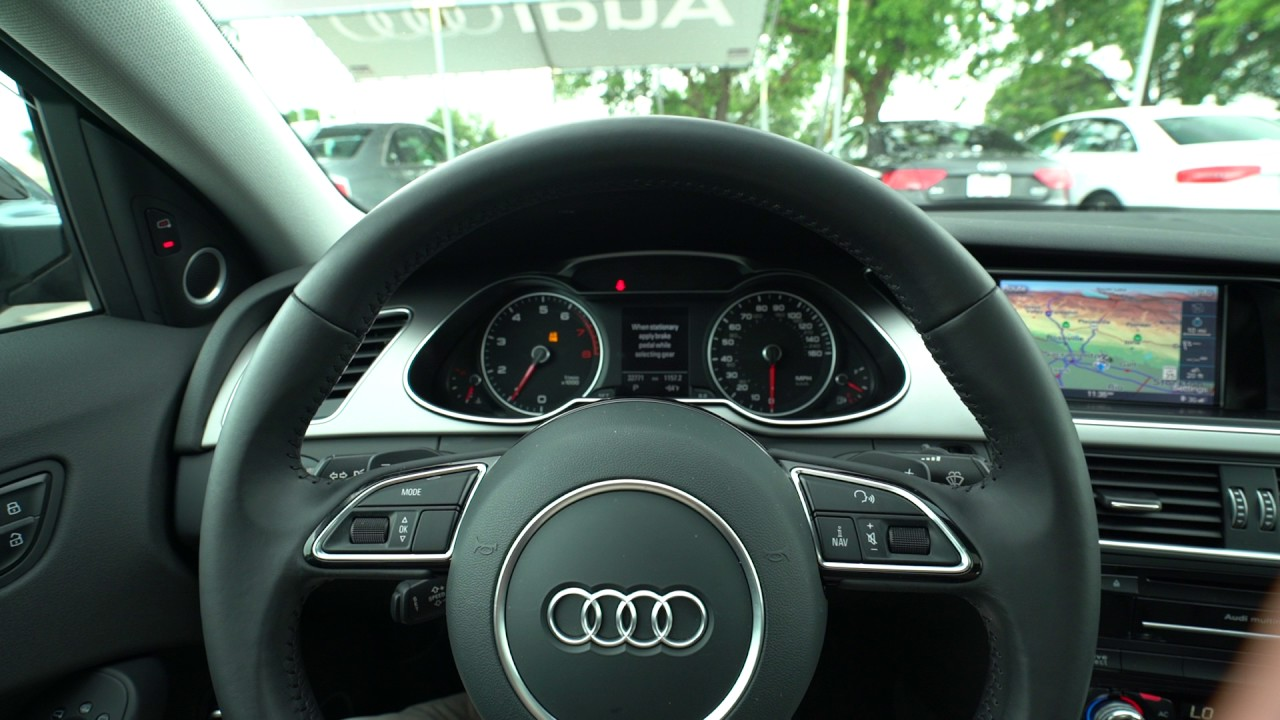 2014 Audi A4 S Line With Black Optic Package Sport