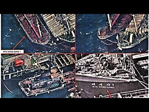 Box TV - Chinese ships spotted by satellite ' sale of oil to North Korea ' 30 times since October,