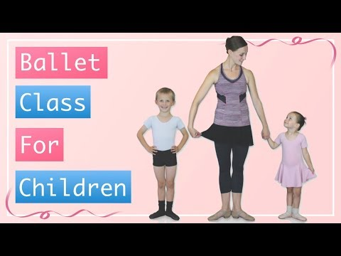 Kid's Ballet Class, For Age 4 To 7 - Ballet Class For Children DVD.