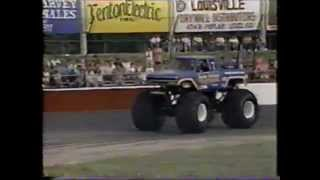 TNT Monster Truck Challenge 1990 Louisville Race 1 (Tuff Trax)