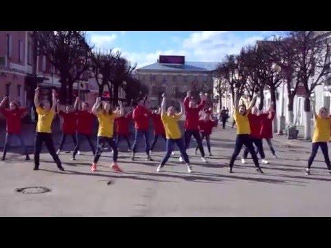 ФЛЕШМОБ НА ДЕНЬ ЗДОРОВЬЯ :-) Гатчина, ТИМ_ГДМ | NL
