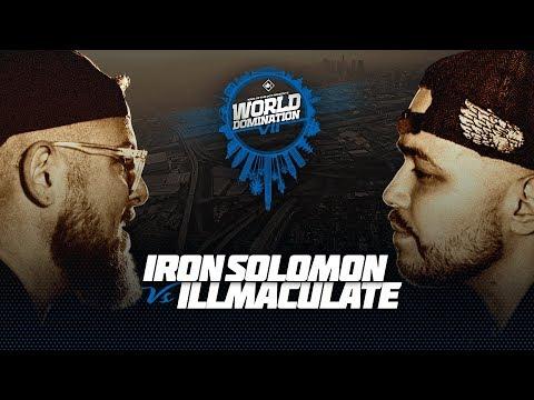 KOTD - Iron Solomon vs Illmaculate | #WD7 (MERRY X-MAS)