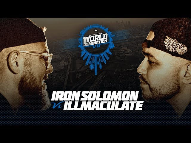 Iron Solomon vs Illmaculate