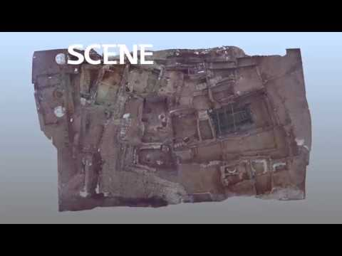 Çatalhöyük South Area 2014 - Terrestrial Laser Scanning