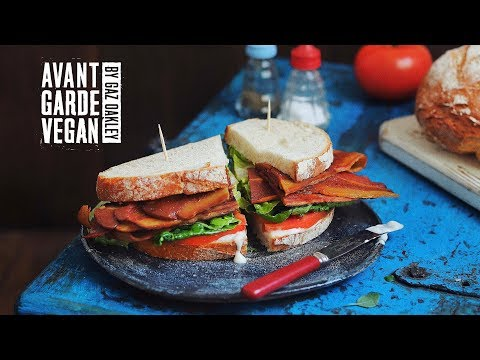 🥓 VEGAN STREAKY BACON *MUST SEE* 🥓 | @avantgardevegan by Gaz Oakley