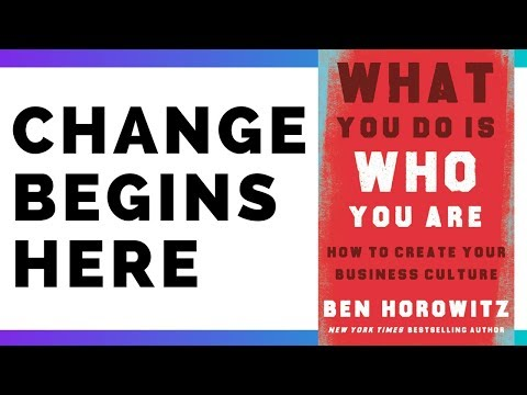 What You Do Is Who You Are By Ben Horowitz | Book Summary