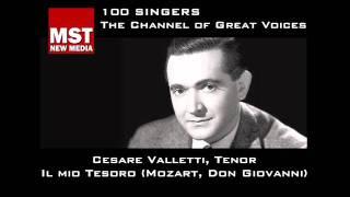 100 Singers - CESARE VALLETTI