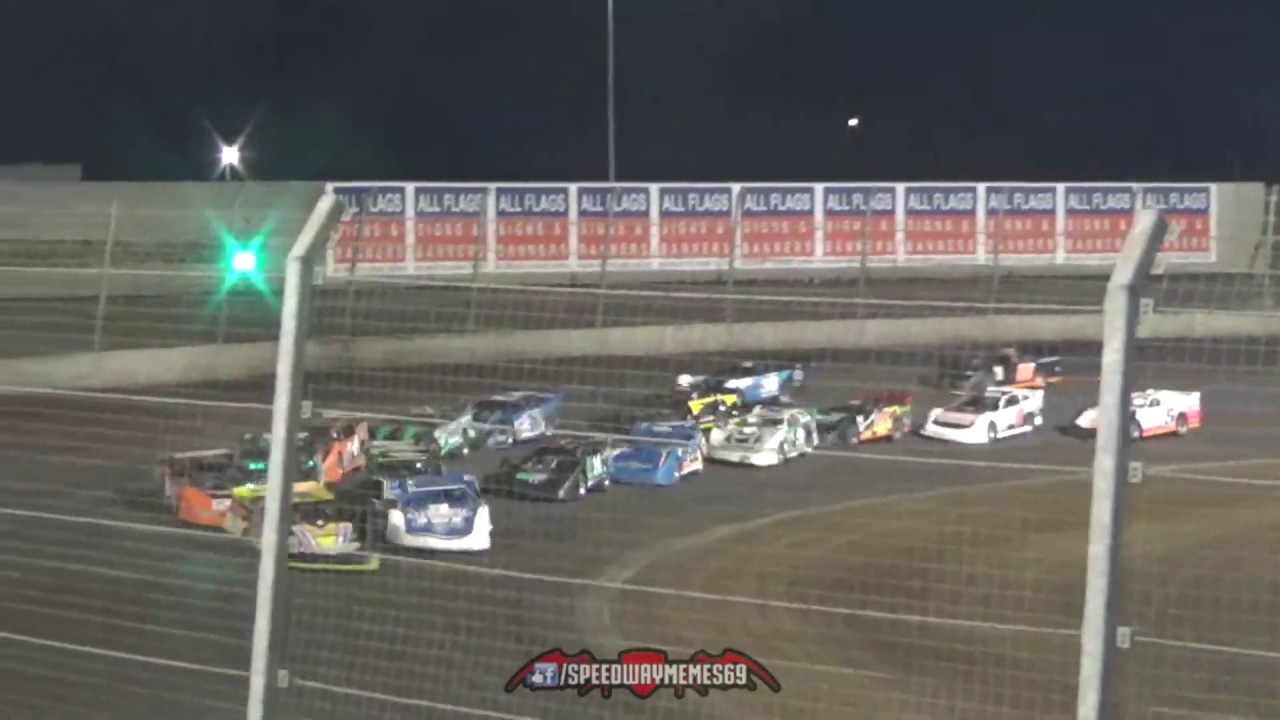 Late Model Prelim Feature 1 - Perth Motorplex 08-01-2020