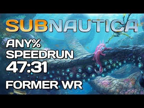 Subnautica - Any% Speedrun - 47:31 [Former WR]