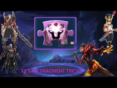 Mobile Legends Rare fragment skin Tricks X2 ( MLBB 2.0 ...
