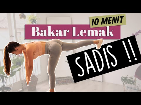 Lemak Terkuras Habis Cuma Workout Di Rumah !! (home Workout - Lower Body Workout)