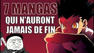 7 MANGAS QUI N'AURONT JAMAIS DE FIN (peut-être) - MENU MANGA #64
