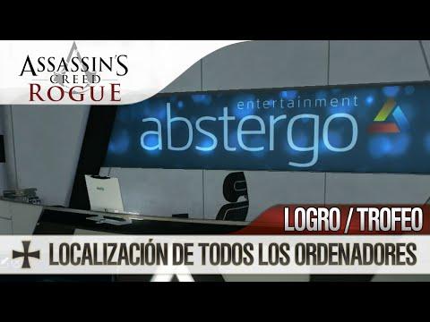 Assassin's Creed Rogue | Guía Español | Trofeo / Logro Amigo informático | Localización Ordenadores