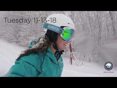 Bretton Woods 11-13-18 Snow Test