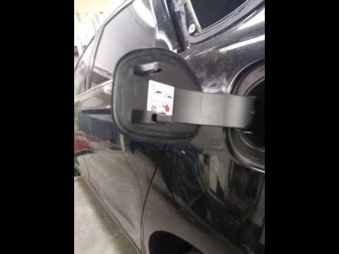 2017 2016 Ford Fusion Fuel Door Removal