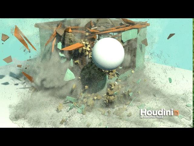Houdini destruction test