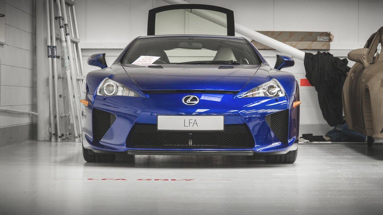 Toyotau0027s Secret Workshop   Lexus LFA, Polar Hilux, Aygo Crazy