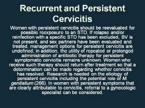 cervicitis treatment antibiotics