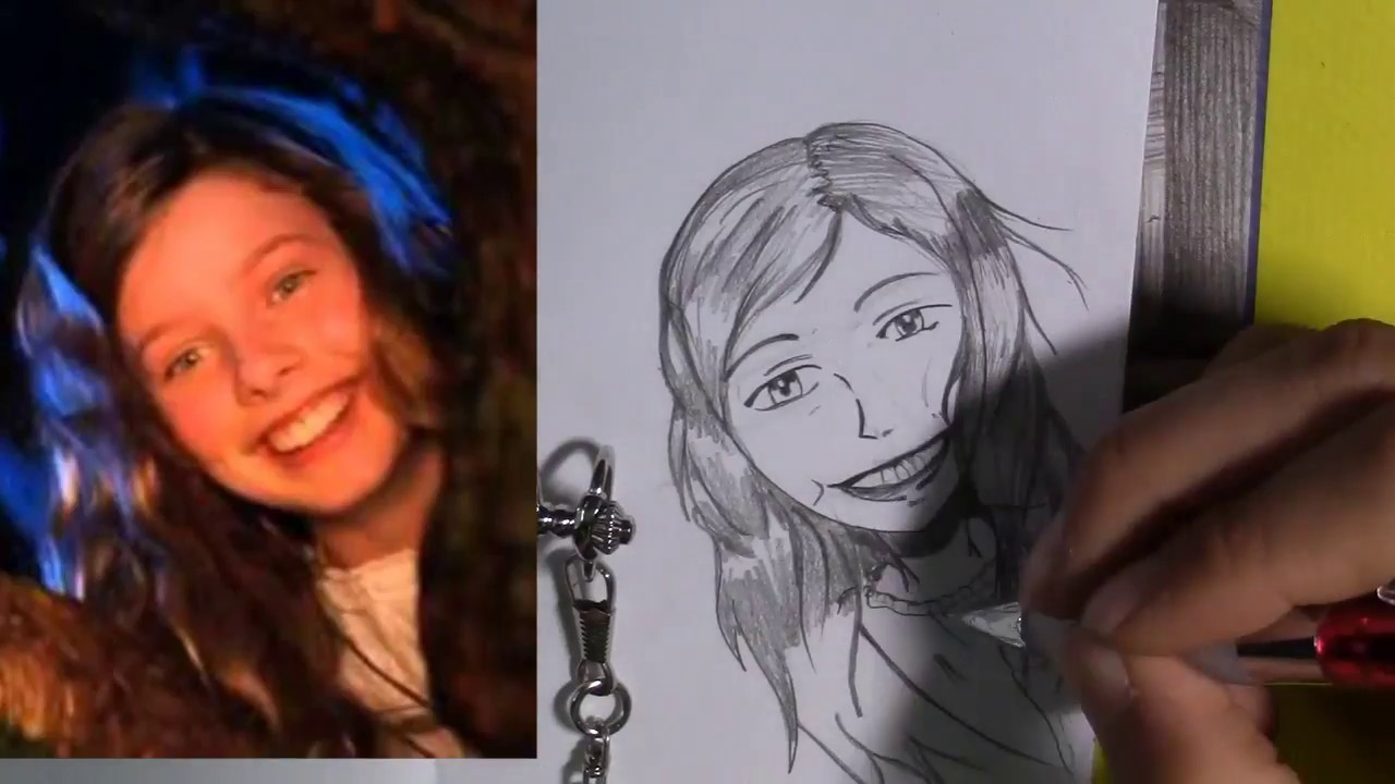 Ep 2 Manga Yourself And Your Friends Drawing Wendy From Peter Pan