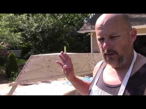 Building the Lumberyard Skiff - Epoxy Saturating