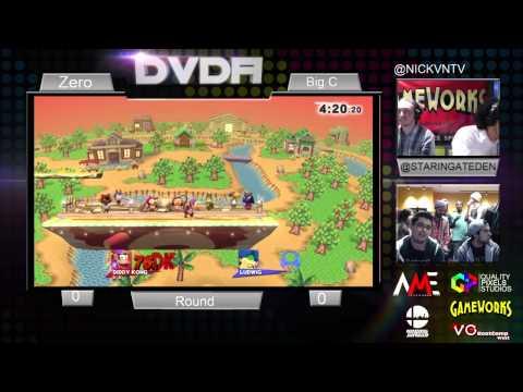 DVDA #5 ZeRo (Diddy Kong) vs Big C (Ludwig) Super Smash Tournament for Wii-U