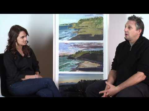 Euan MacLeod Interview Newcastle Art Gallery