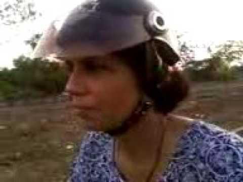SHOBHA SHETTY SCOOTY TEST RIDES ALONE ON 10TH DAY AT GHANSOLI PALMBEACH TRAFFIC PEAK TIME EVENING