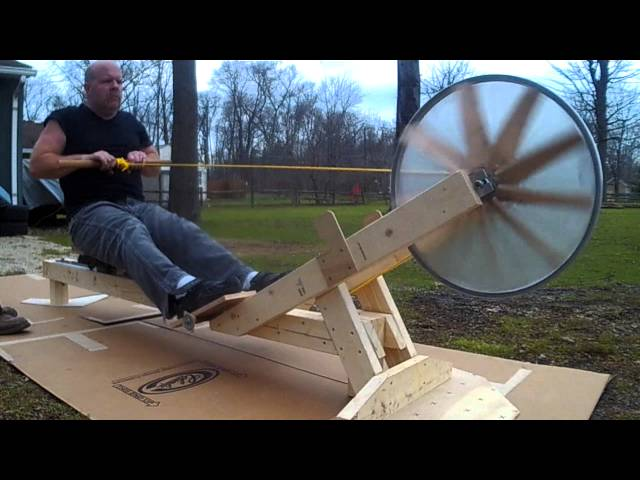 DIY rowing machine | 8 steps to your