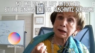 This inspiring story of Auschwitz' survivor Dr. Edith Eger just brought us to tears.
