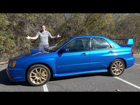 Вот почему Subaru Impreza WRX STI 2004 года - это икона