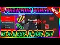ROBLOX NEW HACK PHANTOM FORCES GUI SCRIPT LX, ESP, CHAMS, X-RAY, NOCLIP, FLY, AIMBOT AND MUCH MORE!!