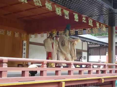 毛越寺 延年の舞(Ennen,Japanese ancient holy dance)