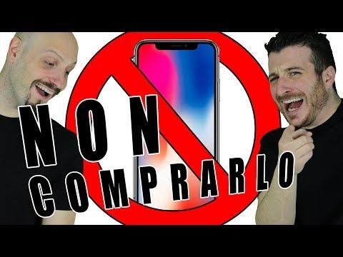 IPHONE X: NON COMPRARLO