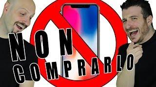 iphone x non comprarlo