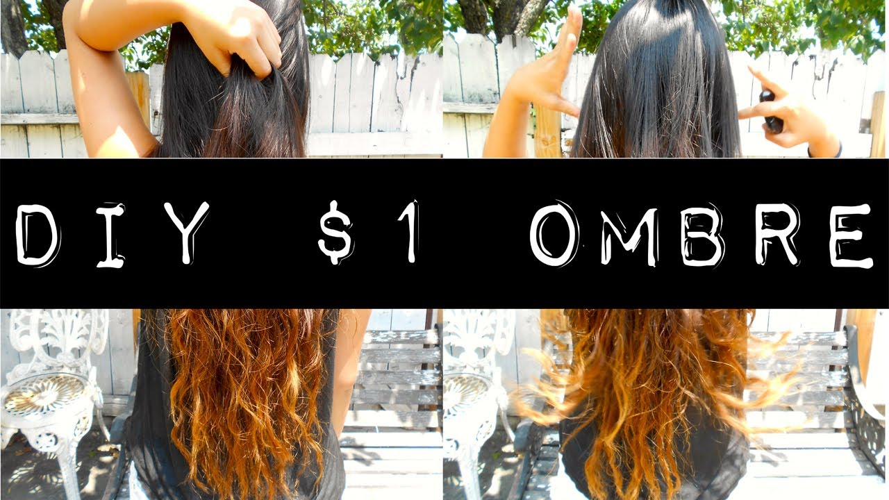 DIY 1 Ombre YouTube