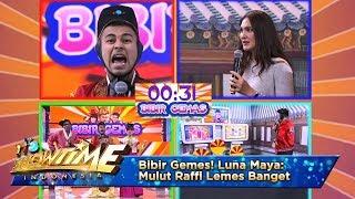 Bibir Gemes! Luna Maya Mulut Raffi Lemes Banget - It's Show Time Eps 10
